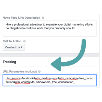 Facebook URL parameters
