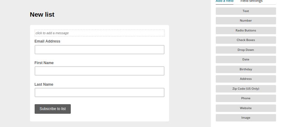 Add fields to a form